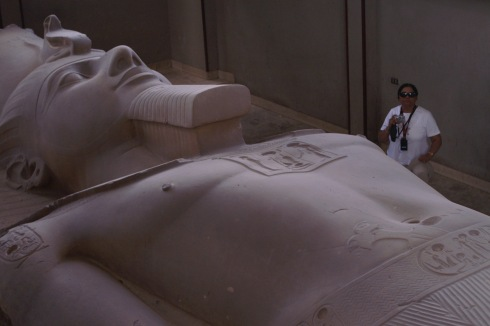 Colossus of Rameses II near Memphis