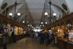 Not much silk in the Cloth Hall (Silkiennice) these days